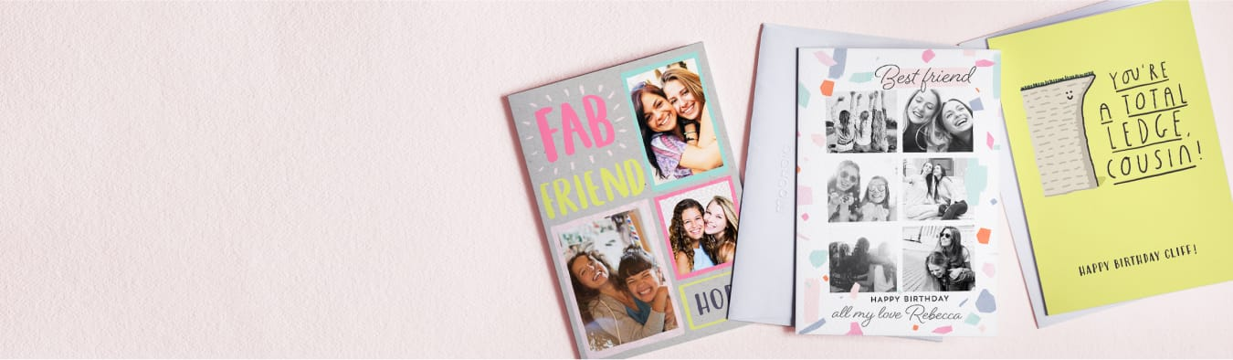 Personalised Birthday Cards | Photo Upload Birthday Cards